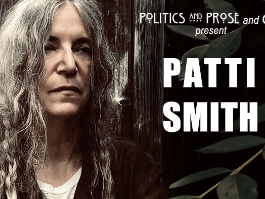Politics and Prose and GW present Patti Smith