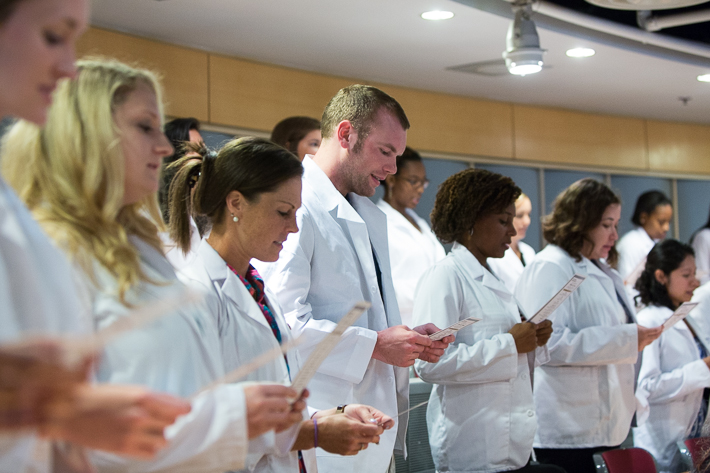 School of Nursing Hosts its Inaugural White Coat Ceremony | GW ...