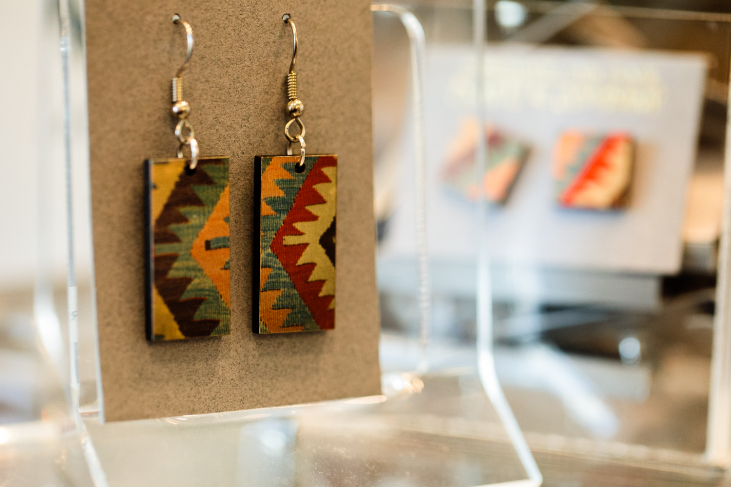 kilim earrings