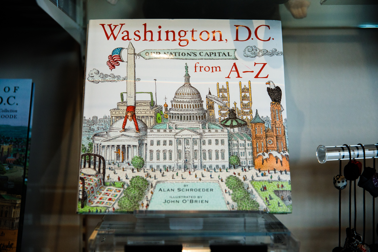 washington a-z book