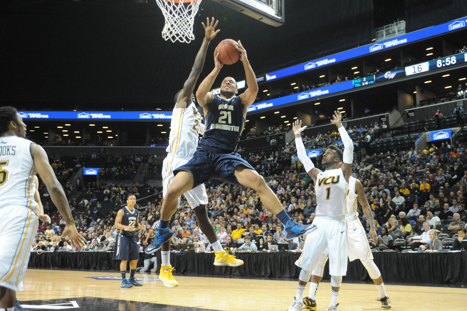 basketball to host selection sunday event at smith center | gw today
