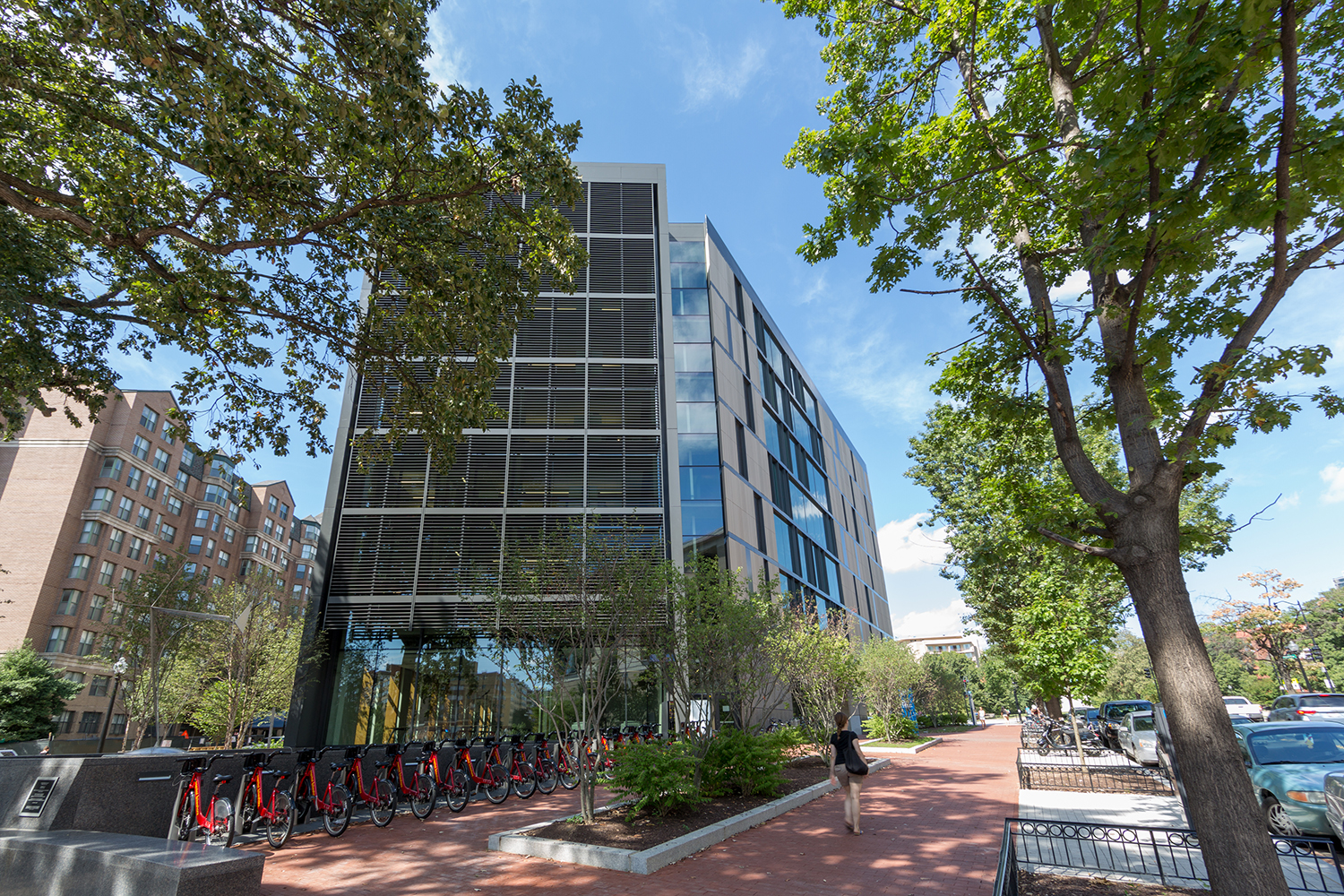 Gw buildings earn leed gold certification gw today the george click to enlarge xflitez Images
