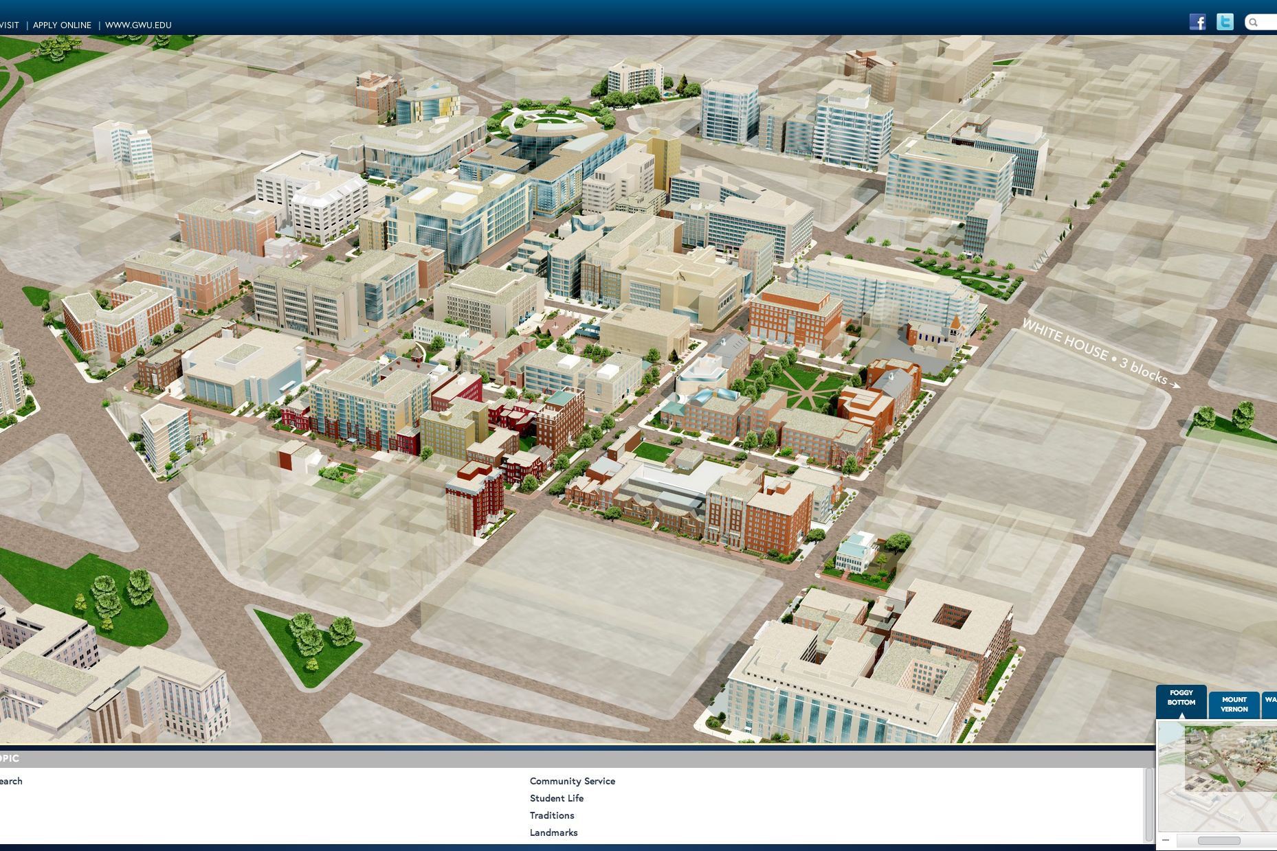 Explore Campus and D.C. With the GW Virtual Tour | GW Today | The ...