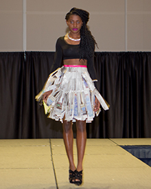 Trashion Show Goes Eco Chic Gw Today The George