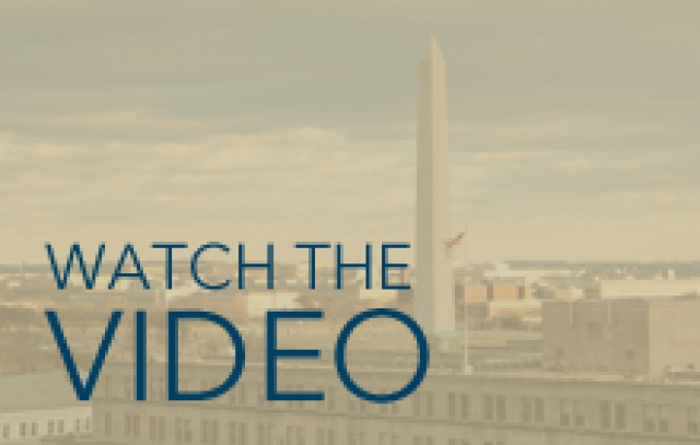 Watch the Video, with Washington Monument in background, GW Welcomes to Faculty Nobel Laureate in Medicine, Dr. Ferid Murad