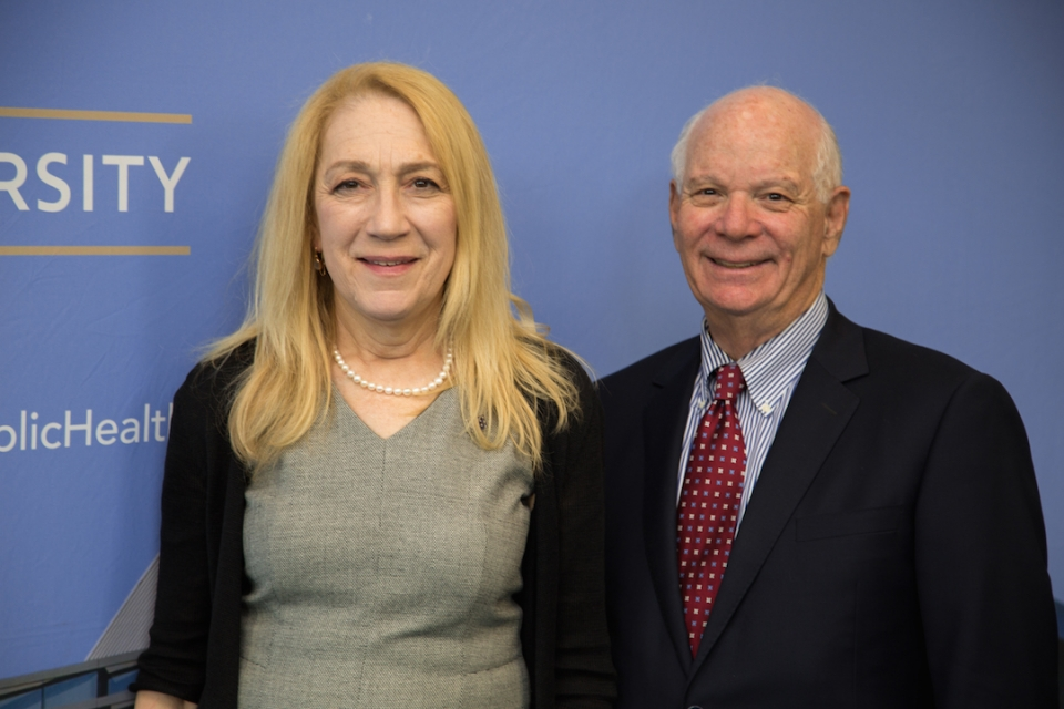 Image of Lynn Goldman and Ben Cardin