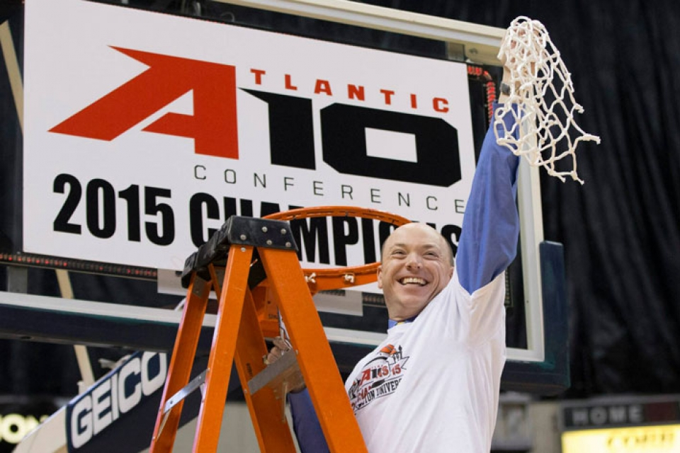 A-10 Coach of the Year Jonathan Tsipis led the Colonials to the Atlantic 10 regular-season and tournament titles.