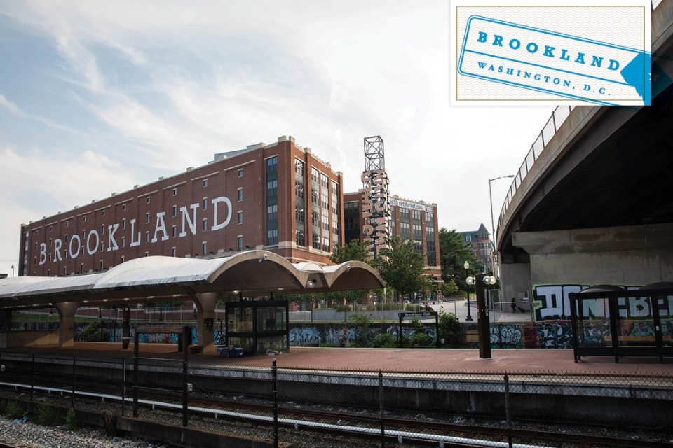 Getting to Know the DMV: Brookland (image of Brookland mural)