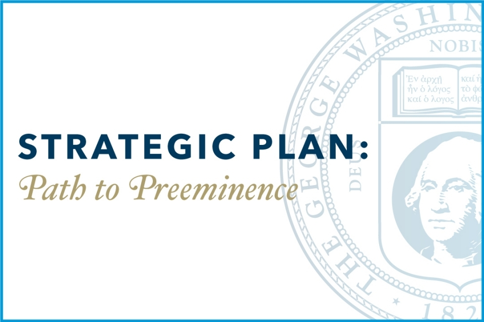 Strategic Plan: Path to Preeminence Graphic