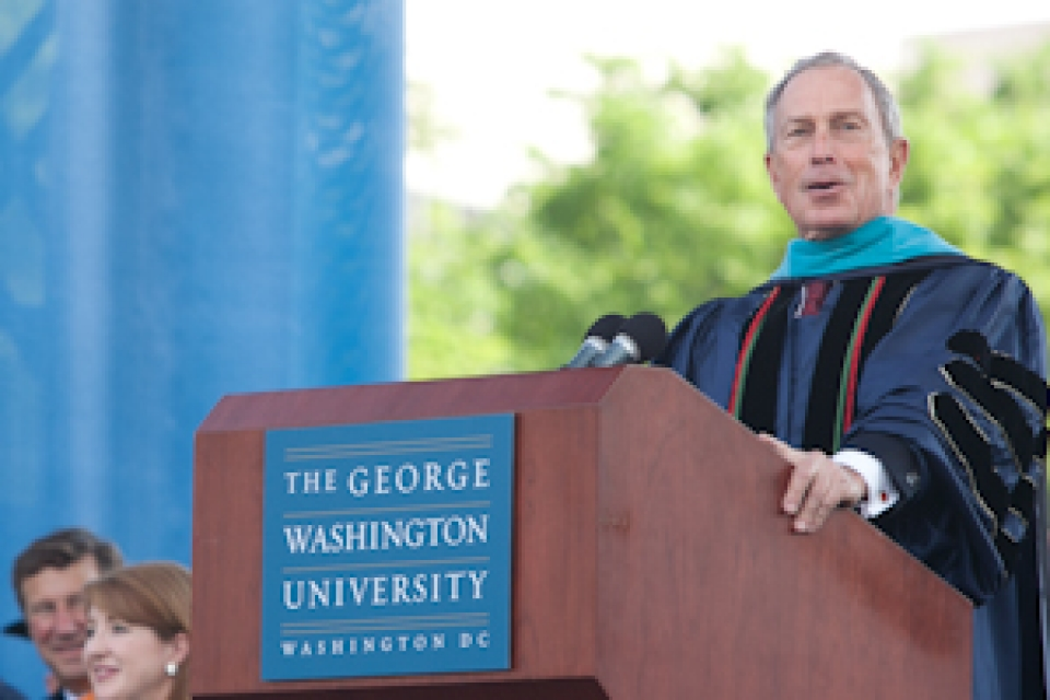 Commencement Speaker: Mayor Michael Bloomberg