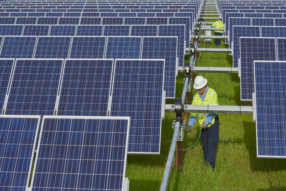 GW Named among Top Colleges for Renewable Energy | GW Today