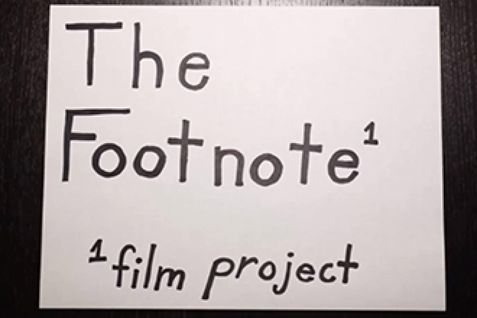 Footnote Film Project