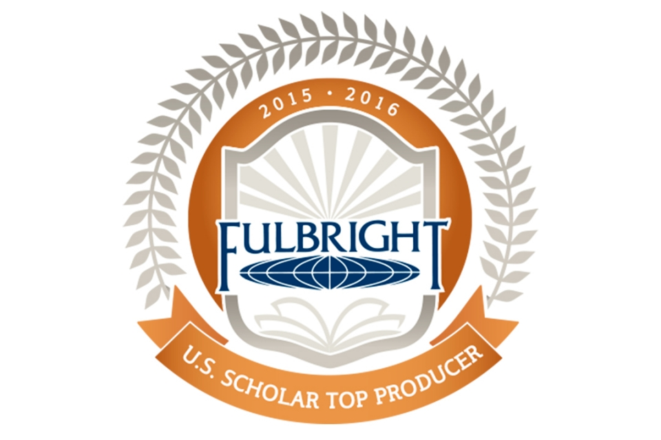 University among Top Fulbright Producers
