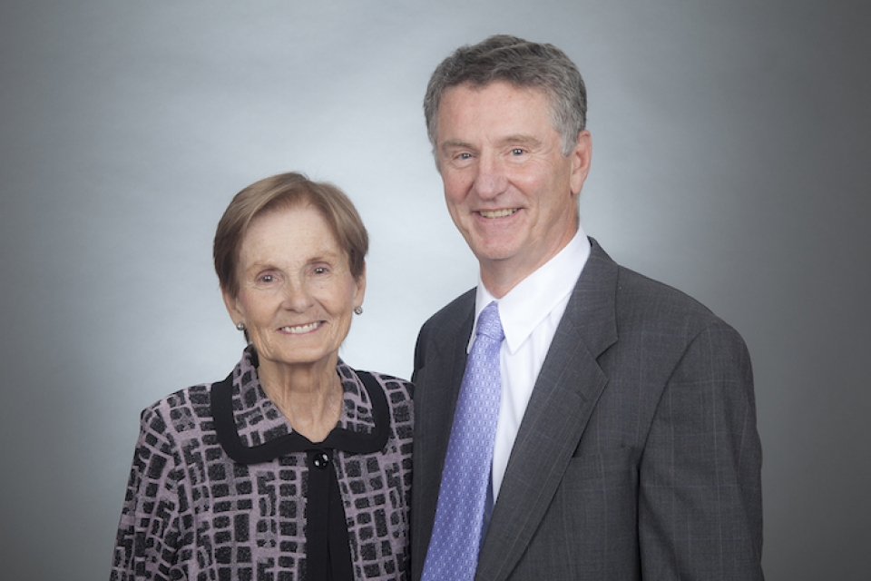 Terry and Alisann Collins