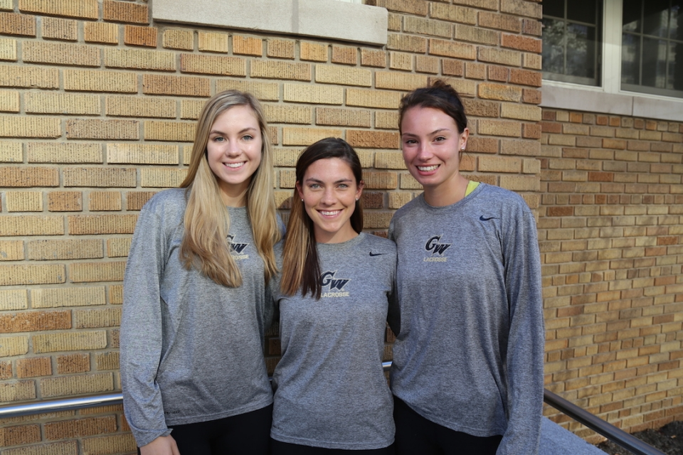 Adele Wise, Brooke Sands and Jocelyn Donahue.