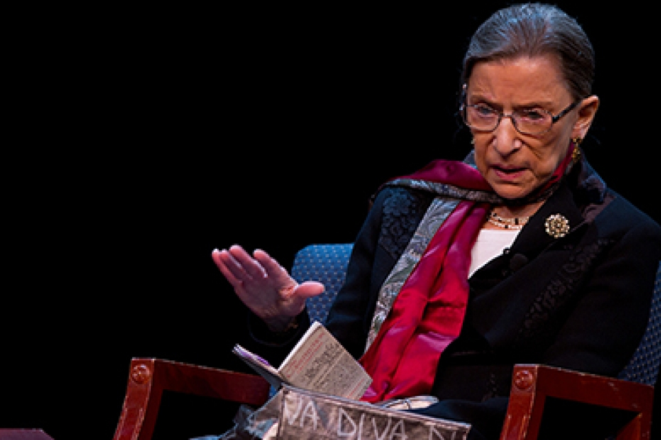The Sixth Annual Capital City Constitution Day celebration will feature Ruth Bader Ginsburg.