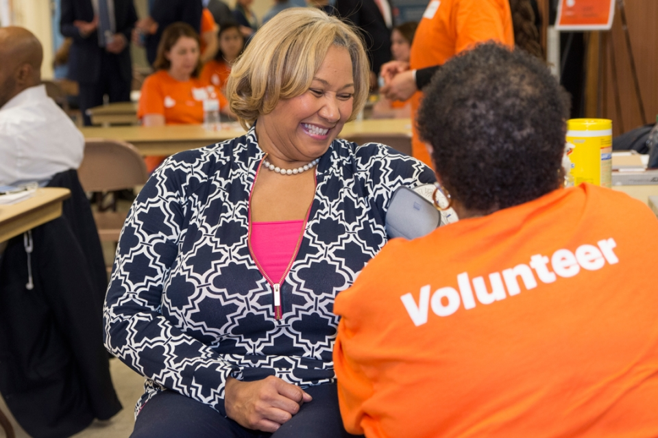 GW and the National Kidney Foundation Host Screening in Ward 7