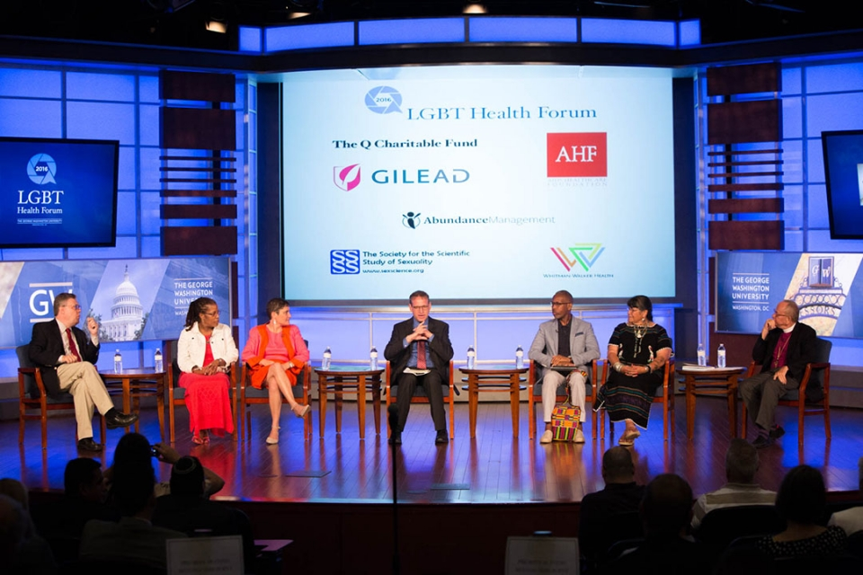 Experts Talk Health and Religion at LGBT Forum | GW Today | The
