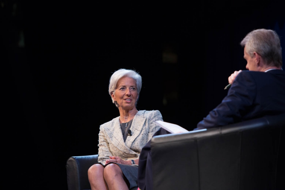 Five Updates on the Global Economy from Christine Lagarde's