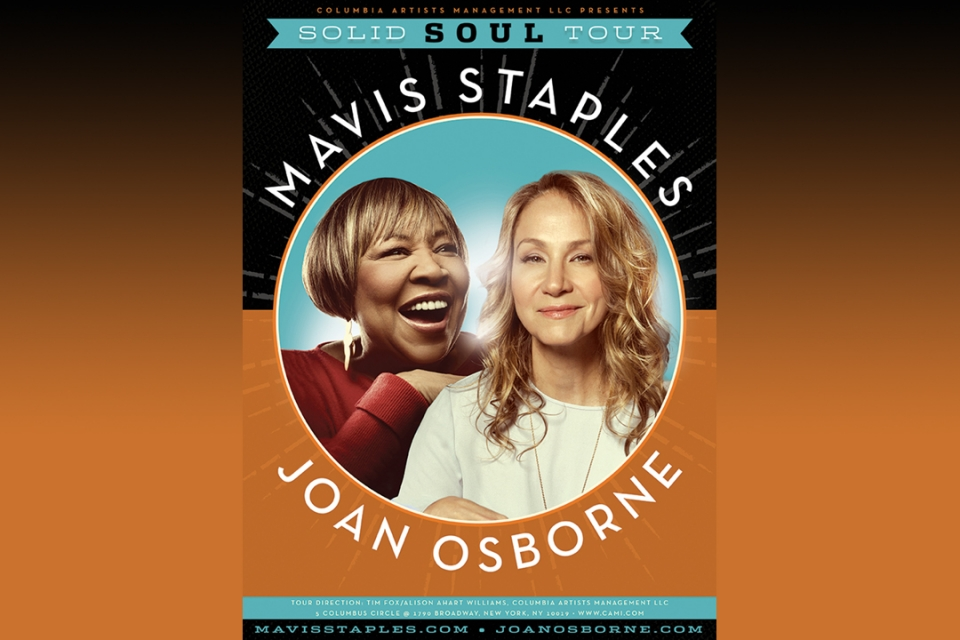 Mavis Staples and Joan Osborne Bring Soul to Campus