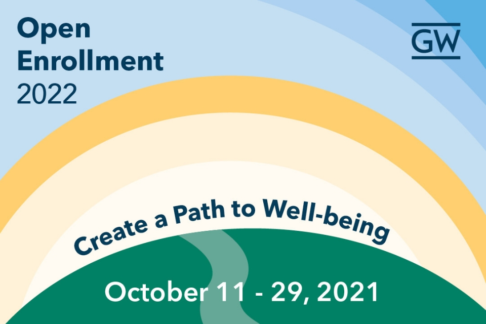 Open Enrollment 2022, Create a Path to Well-being, October 11 - 29, 2021