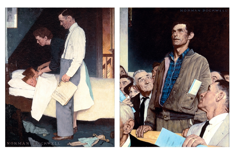 Norman Rockwell's 'Four Freedoms' Will Come to GW as Part of ...