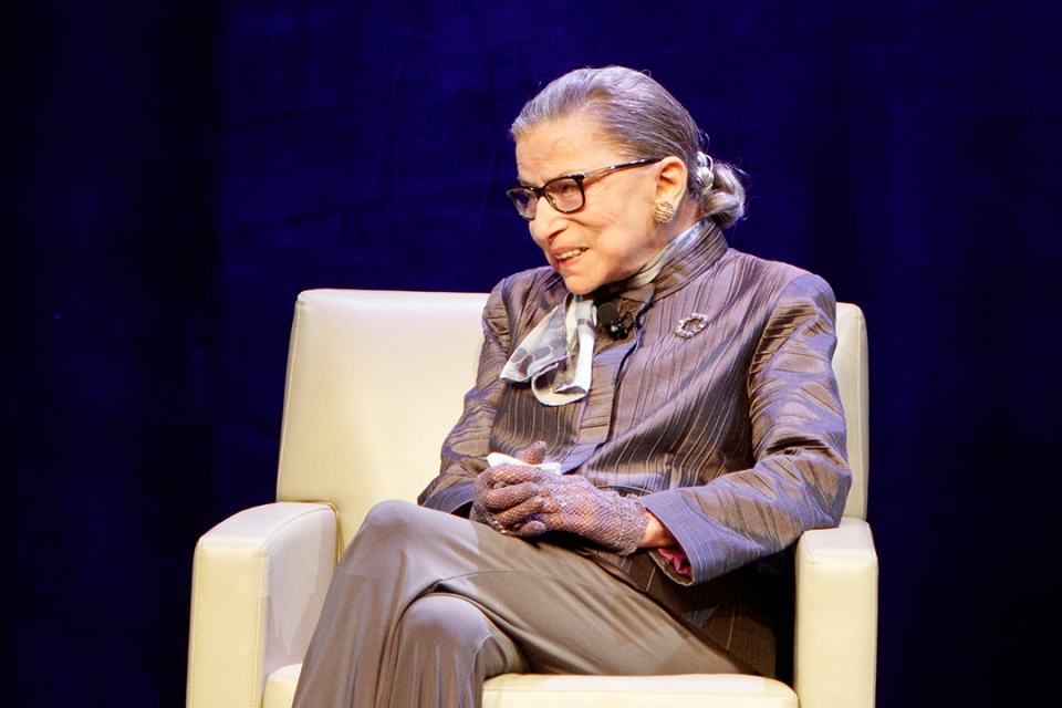 Justice Ginsburg image
