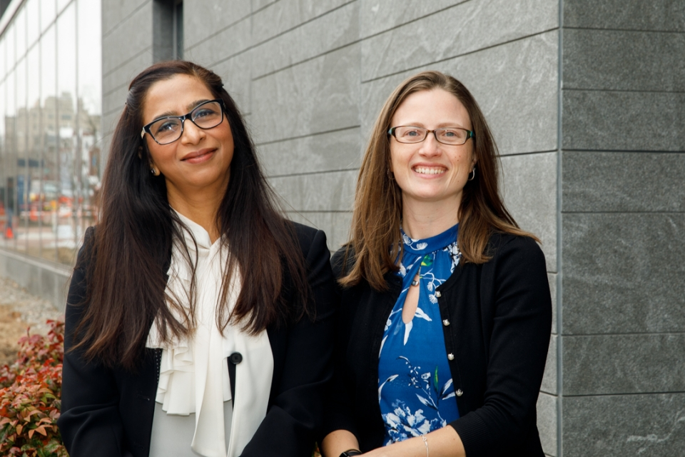 Shaista Khilji and Kelly Pumroy collaborated on a paper that explores the way women navigate careers in engineering. (William At
