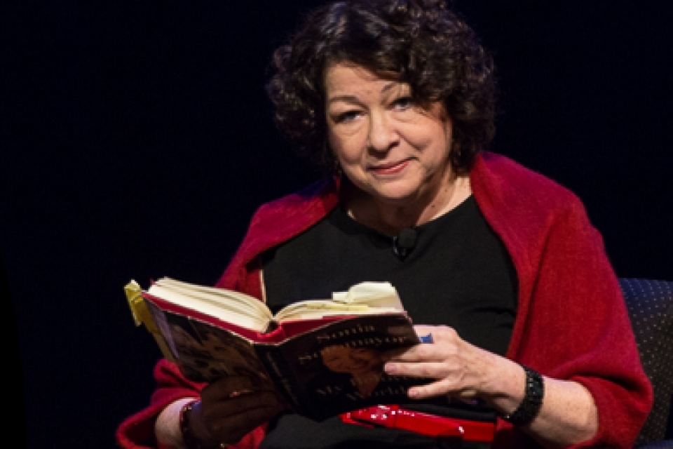 "Sonia Sotomayor reads an excerpt from her book ""My Beloved World"""