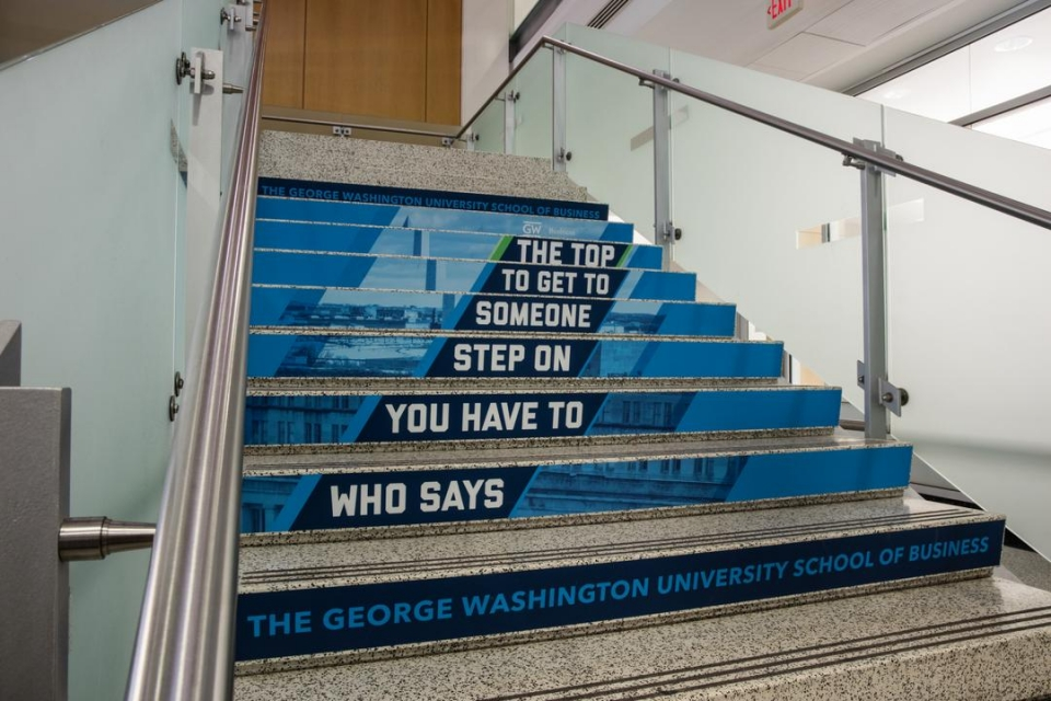 GWSB stairs