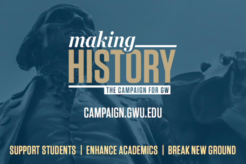 GW Making History campaign