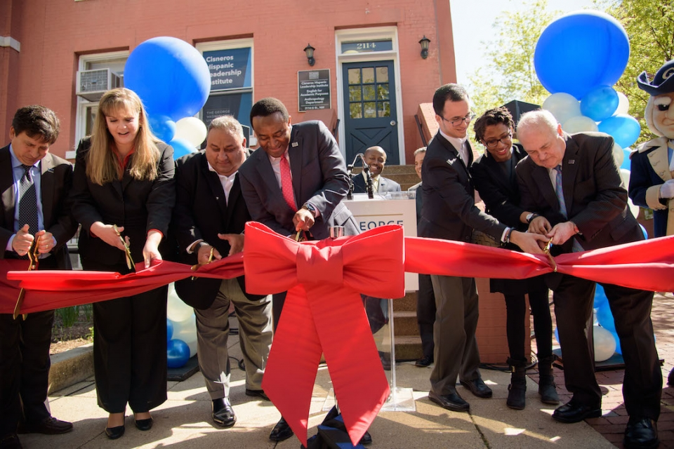 cisneros institute ribbon-cutting