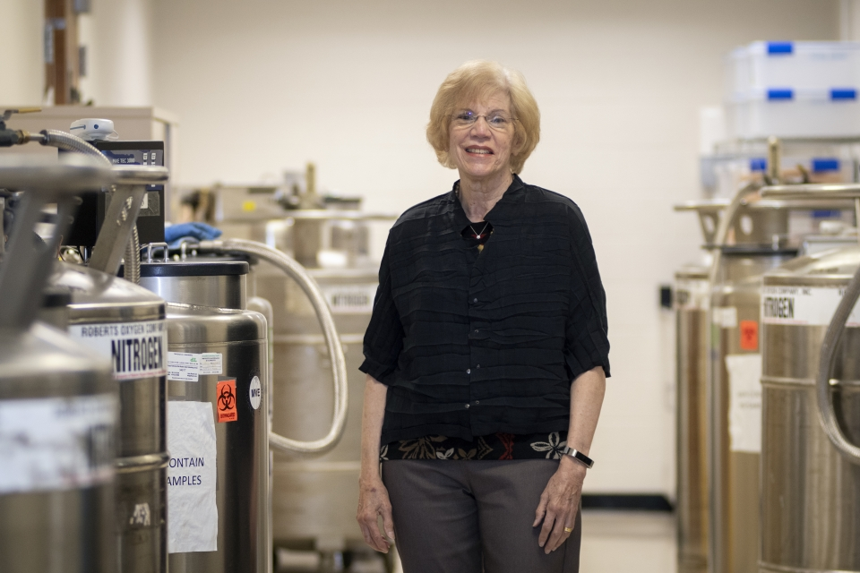 Sylvia Silver, director of the GW Biorepository and professor of microbiology, immunology and tropical medicine at SMHS, is one of the principal investigators on the AIDS and Cancer Specimen Resource project.