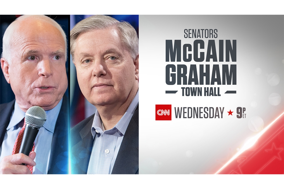 cnn mccain graham town hall