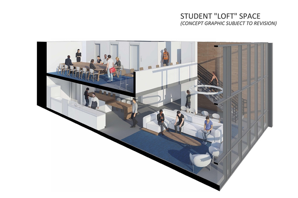 New residence hall design concept