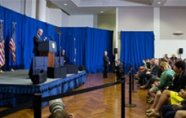 Vice President Joe Biden Speaks at GW