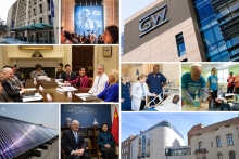 President Knapp's Accomplishments collage