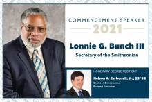 Commencement graphic