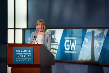 """Geneva Henry remarks on """"Resources for Researching and Teaching DC History at GW"""""""