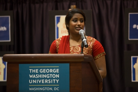 Pavithra Chidambaram, communications director, Satyam, GSWB '15