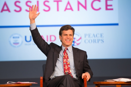 Chairman of the Special Olympics Timothy P. Shriver
