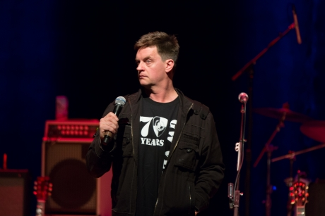 Former Saturday Night Live cast member Jim Breuer performs a comedy routine.