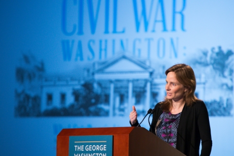 """Kate Masur delivers the keynote lecture on """"Black Politics in Civil War Washington:  What Spielberg's Lincoln Didn't Tell You"""""""