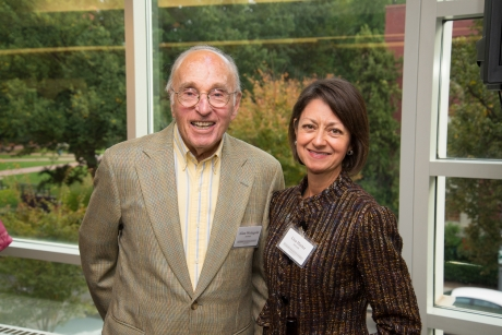 Lisa Harter and Dr. Allan Wengold