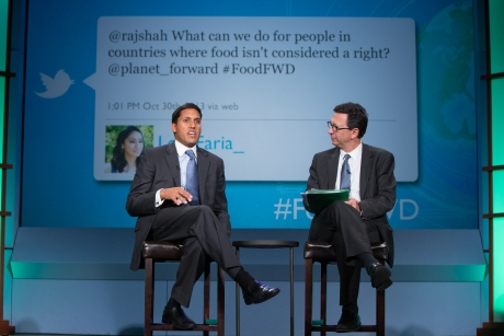 Rajiv Shah answers Twitter questions