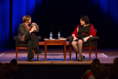Supreme Court Justice Sonia Sotomayor spoke for 80 minutes at a sold