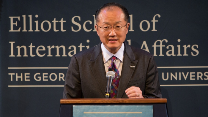 World Bank President Jim Yong Kim