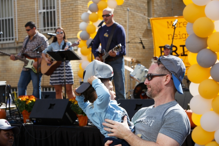 Associate Dean of Students Tim Miller and his band, The Miller Band, perform