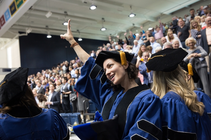 GW 2015 Doctoral Hooding Ceremony