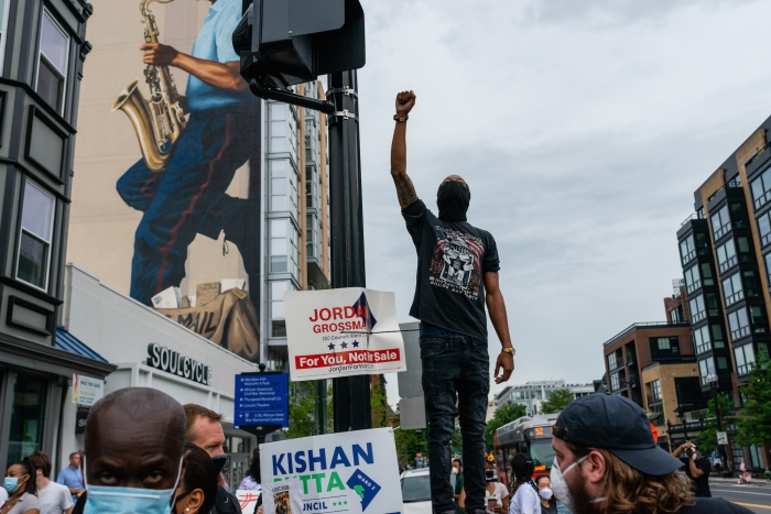 Image of protester